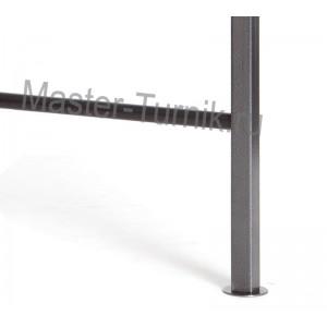 Металлическая шведская стенка (ступеньки из ПВХ)