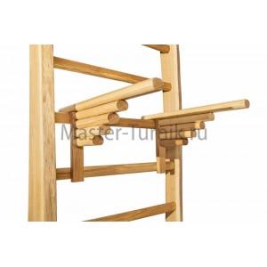 Брусья для шведской стенки из массива дуба