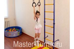 Шведская стенка для детей и всей семьи: упражнения на шведской стенке