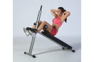 Упражнения на пресс на скамье