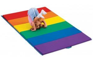 Необычное применение детских спортивных матов для самых маленьких